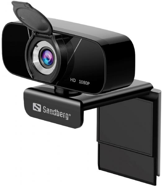 Sandberg USB Chat Webcam 1080P HD